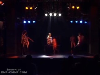 japanese dance , strip and illusion show